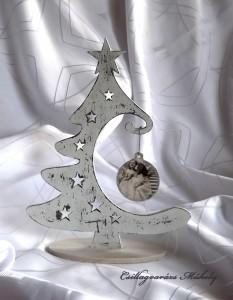 Karácsonyfa, koptatott